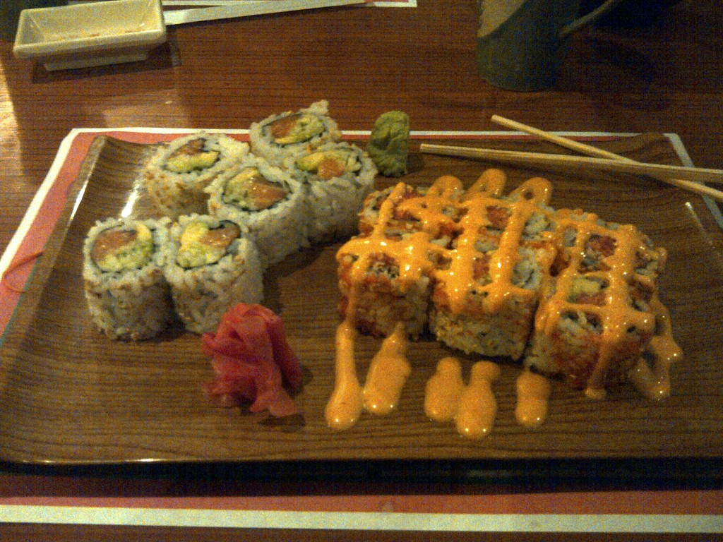 spicy tuna alaskan maki